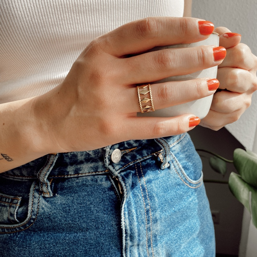 Gina Ring Silber