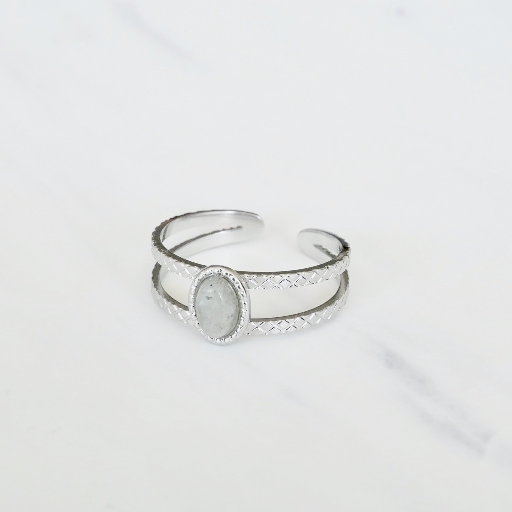 Island Ring Silber