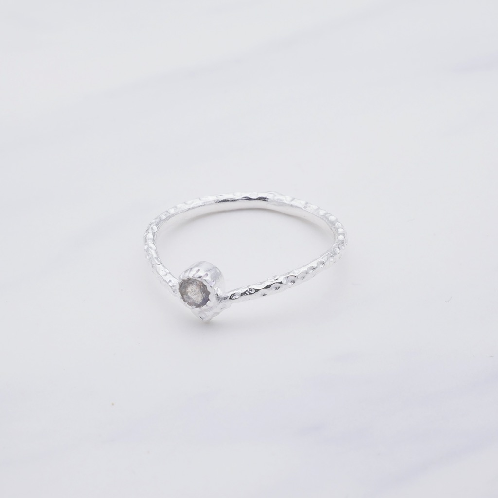 Heva Ring  Silber