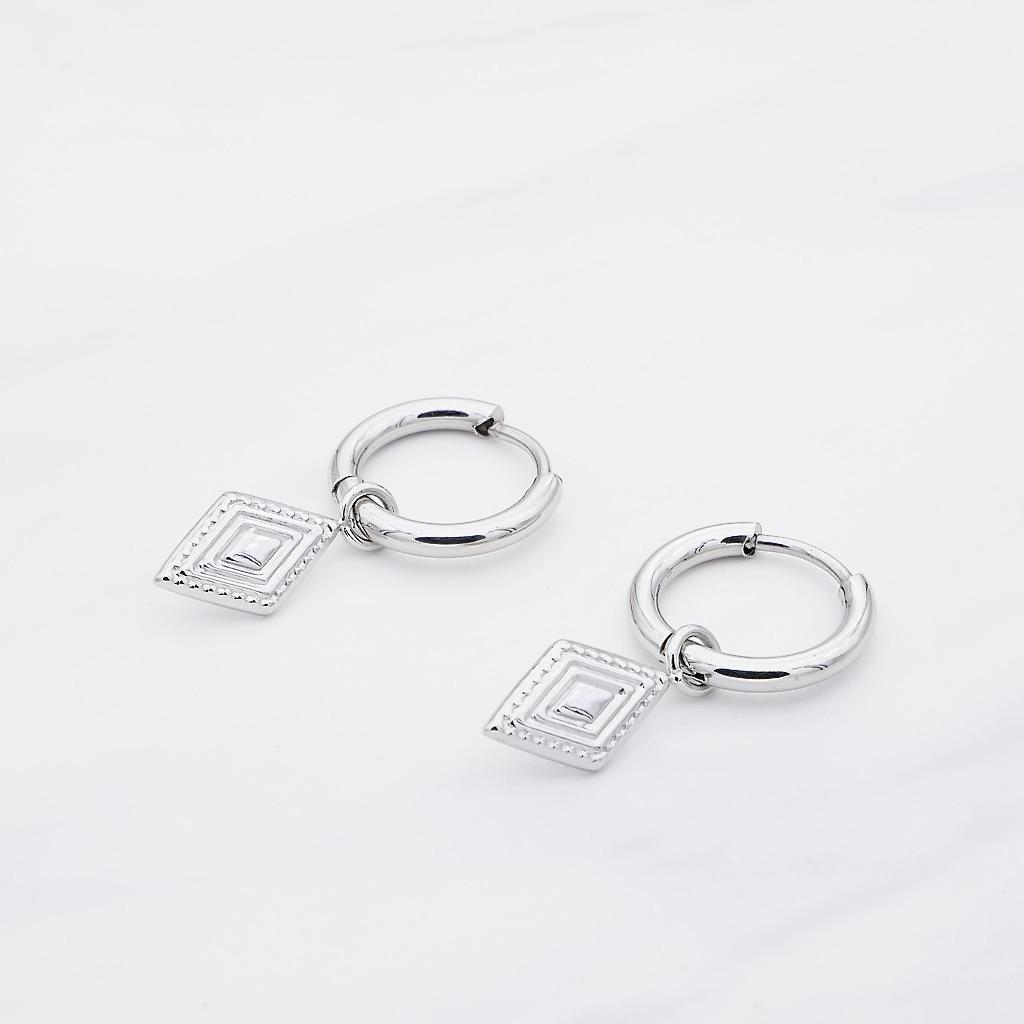 Malou Ohrring Silber
