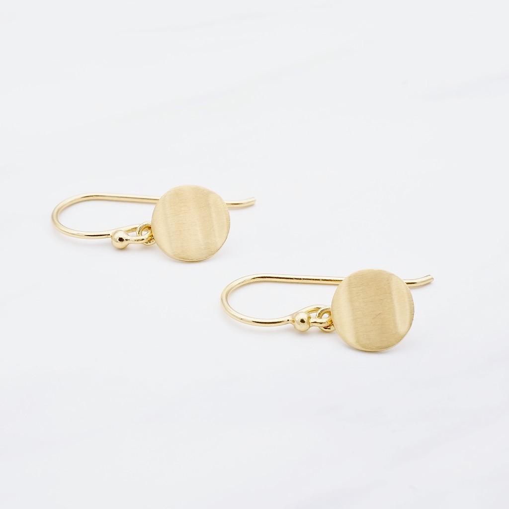 Basic Ohrhänger Gold