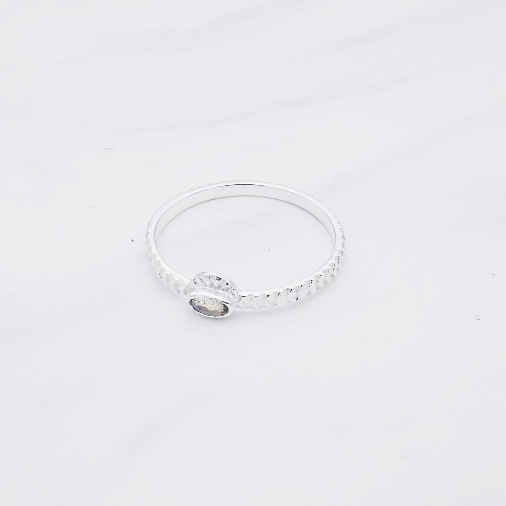 Mila Ring Silber