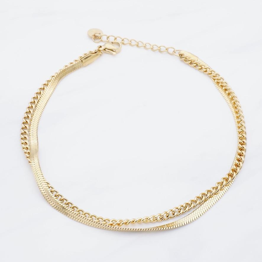 Alara Fußkette Gold