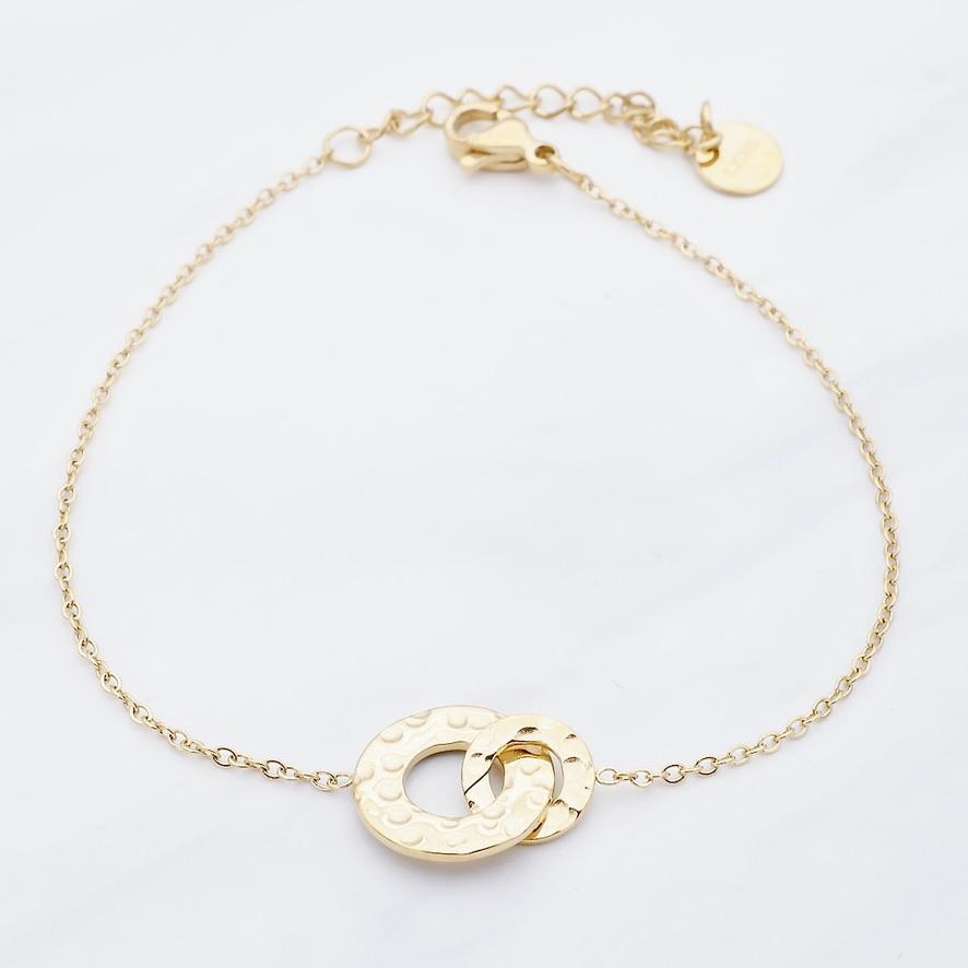 Naja Armband Gold