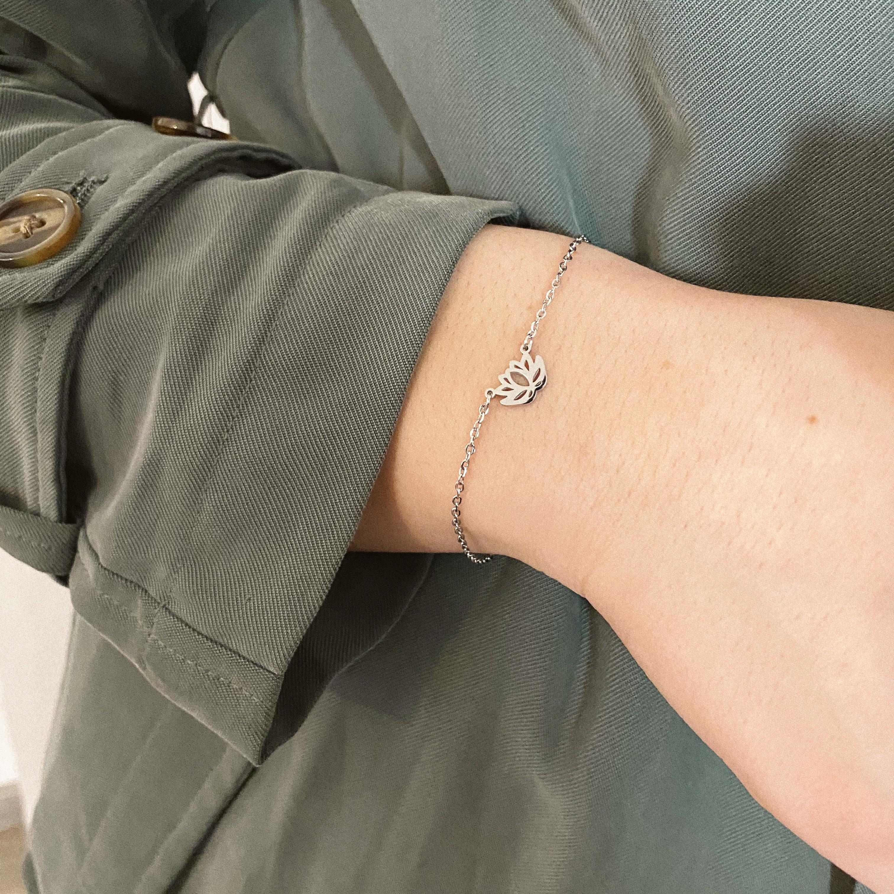 Lotus Armband Gold