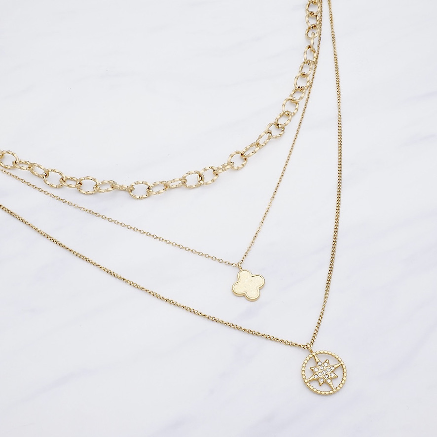 Alayah Layer Kette Gold