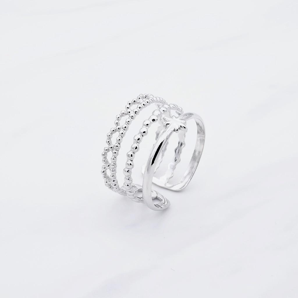 Maori Ring Silber