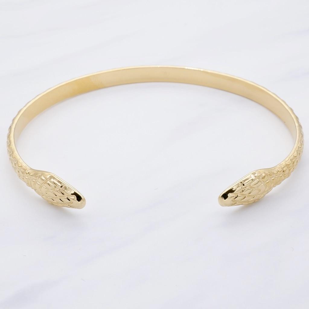 Snake Armreif Gold