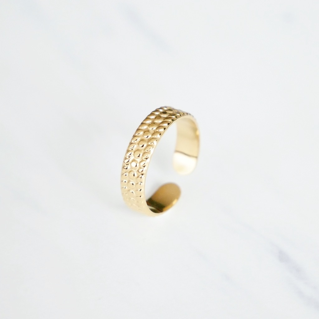 Cord Ring Gold