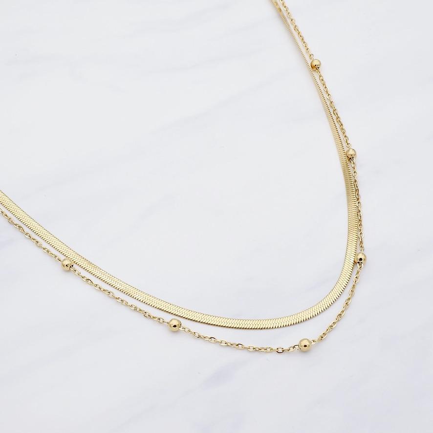 Tiana Kette Gold