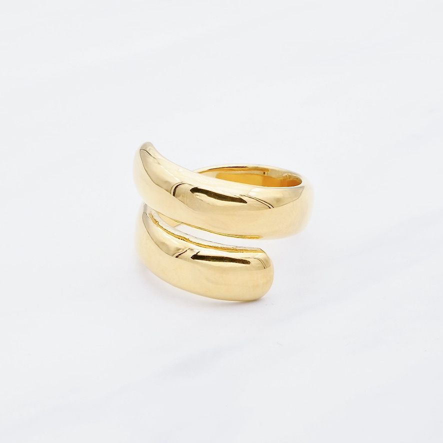 Flavia Ring Gold