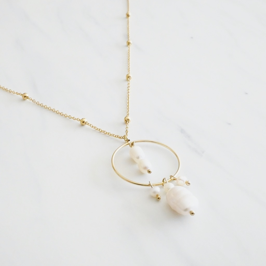Pearl Kette Gold