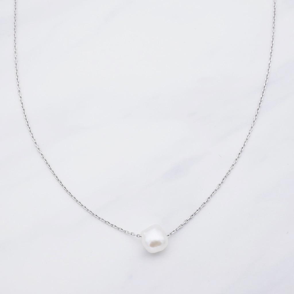 Perla Kette Silber
