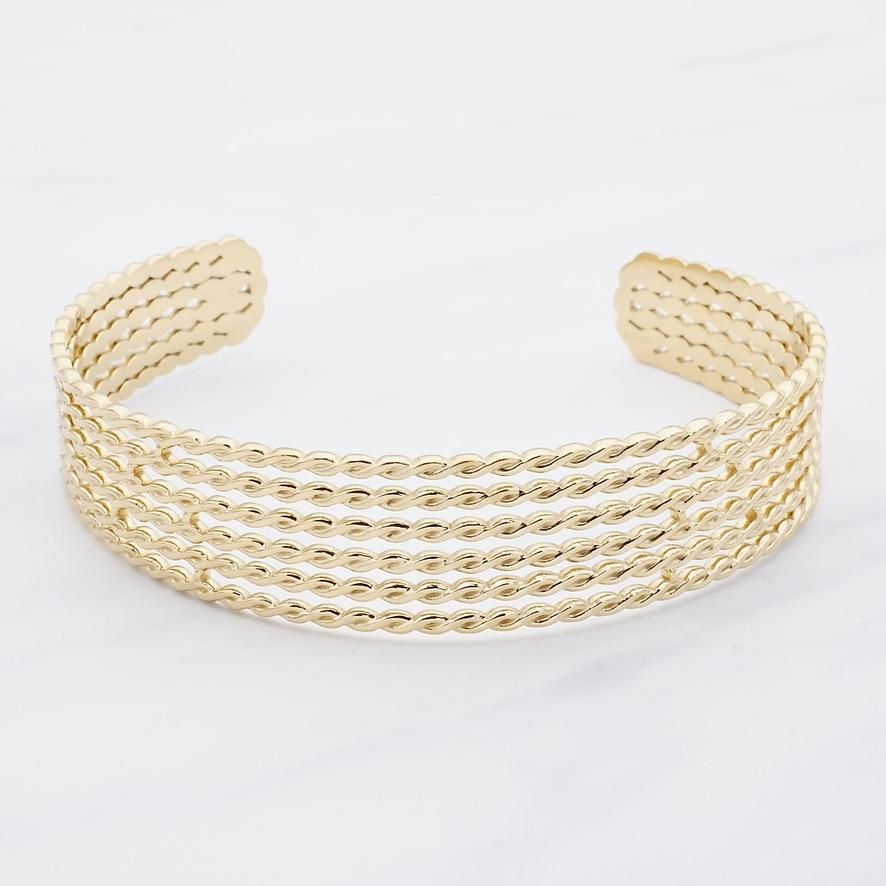 Laila  Armreif Gold