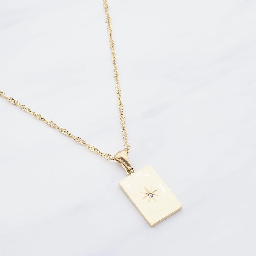 Azzah Kette Gold